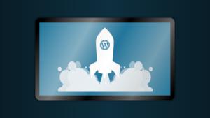 fusée WordPress